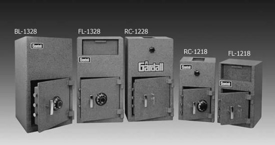 Gardall Single Door Drop Safes