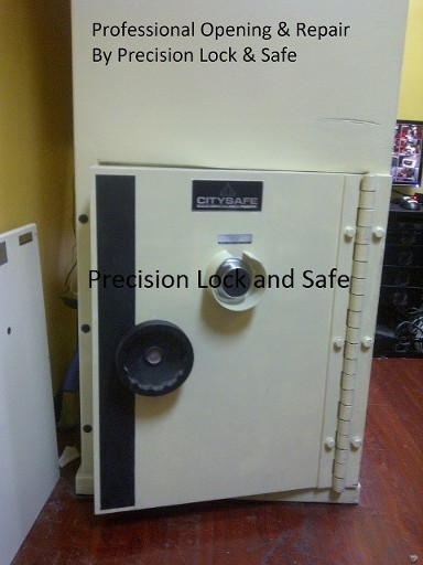Professional Opening By Precision Lock & Safe